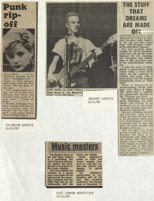 News Reviews November 1983 - His Masters Voice (5)