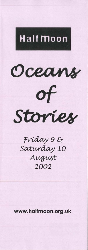 Oceans of Stories - Programme (1)