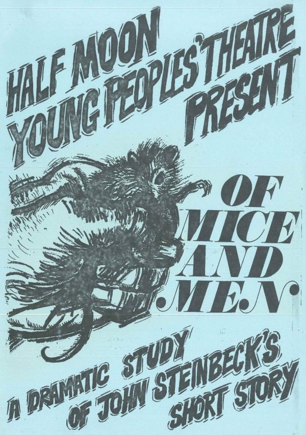 Of Mice and Men Flyer (Front)