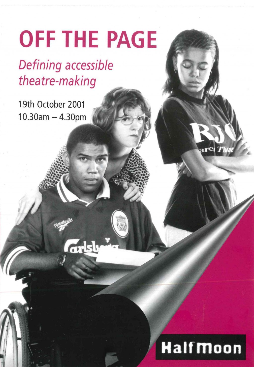 Off the Page 2001 - Flyer (front)