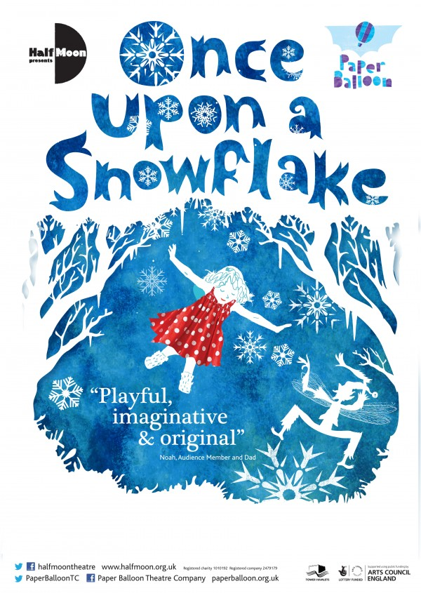 Once upon a snowflake (A3 poster no crops)