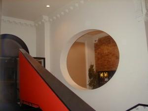 Half Moon Theatre, 43 White Horse Road, interior 2000.