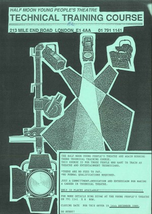 Poster - Technical Training Course 1989