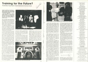Press Feature - Training for the Future