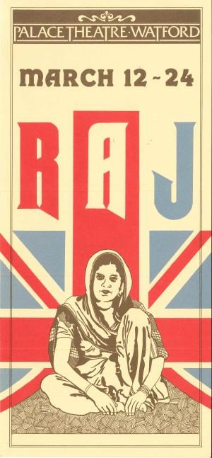 Raj - Watford Palace Theatre Programme 1