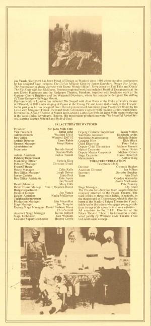 Raj - Watford Palace Theatre Programme 4