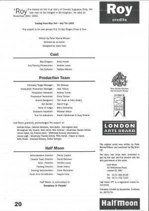 Roy Programme