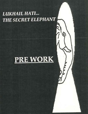 Lukhail Hati - The Secret Elephant-Flyer