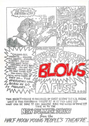 Short Circuit Blows A Fuse Flyer Image