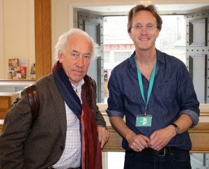 Simon Callow and Chris Elwell