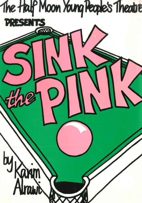 Sink the Pink Flyer (Front)
