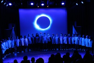 Stages of Half Moon - Equinox Youth Theatre, Hopscotch Hypnosis, 1 July 2016