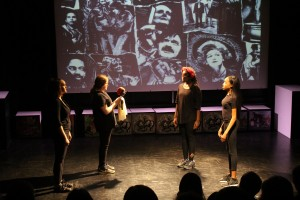 Stages of Half Moon - Lunar Youth Theatre, Control and Command, 30 June 2016