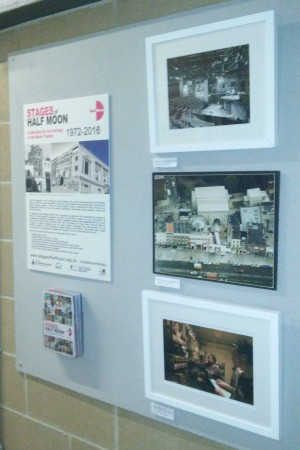 Stages of Half Moon exhibition at Royal Holloway University of London (1)