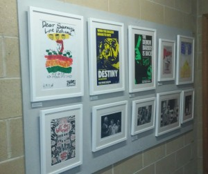 Stages of Half Moon exhibition at Royal Holloway University of London (6)