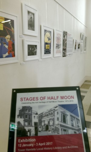 Stages of Half Moon exhibition at Tower Hamlets Local History Library and Archves (12)