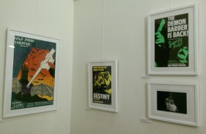 Stages of Half Moon exhibition at Tower Hamlets Local History Library and Archves (13)