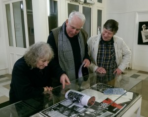 Stages of Half Moon exhibition at Tower Hamlets Local History Library and Archves (2)