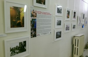 Stages of Half Moon exhibition at Tower Hamlets Local History Library and Archves (6)