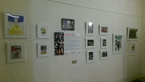 Stages of Half Moon exhibition at Tower Hamlets Local History Library and Archves (7)