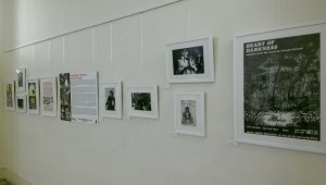 Stages of Half Moon exhibition at Tower Hamlets Local History Library and Archves (8)