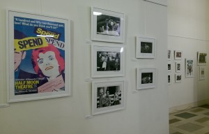 Stages of Half Moon exhibition at Tower Hamlets Local History Library and Archves (9)