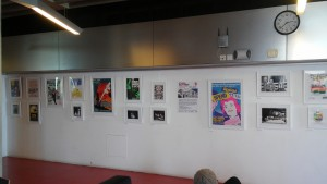 Stages of Half Moon exhibition at Whitechapel Ideas Store (1)