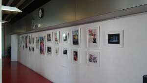 Stages of Half Moon exhibition at Whitechapel Ideas Store (2)