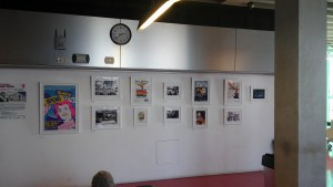Stages of Half Moon exhibition at Whitechapel Ideas Store