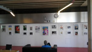 Stages of Half Moon exhibition at Whitechapel Ideas Store (4)