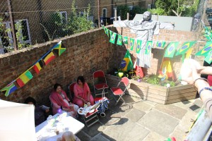 Stages of Half Moon Garden Party, Wed 17 August 2016