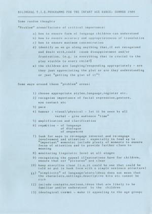 Khorghosh & Kautwa - Hare & Tortoise - TIE Programme (1)