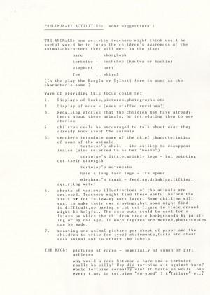 Khorghosh & Kautwa - Hare & Tortoise - Teacher's Information (2)