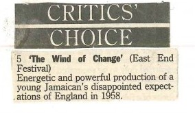 The Wind of Change - Critics' Choice
