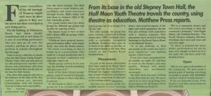 East End Life, 27 Feb-5 Mar 1995