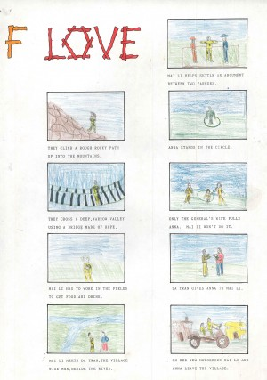 Tug of Love, The. Participants Story Board (2)