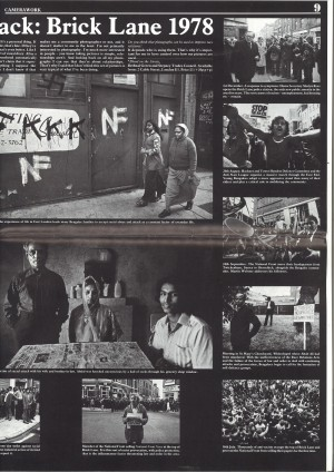 Magazine (Camera Works) - Brick Lane 1978