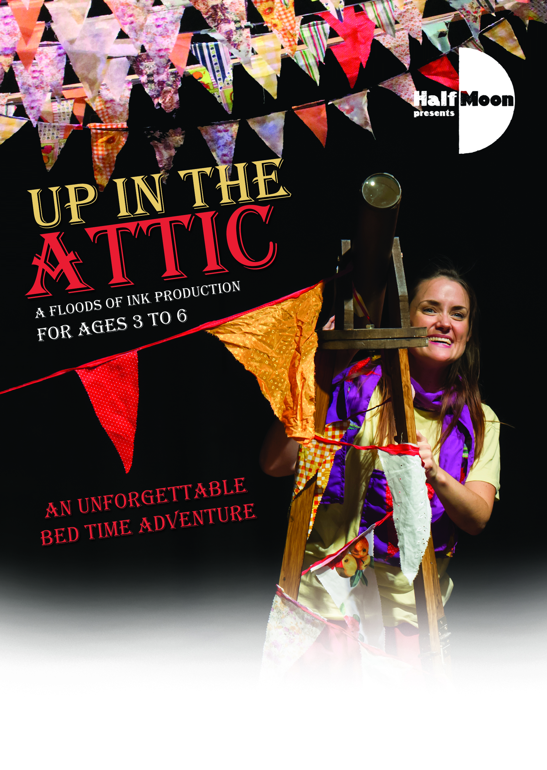 Up in the Attic - leaflet front - 2015