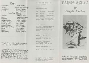 Vampirella Flyer (Back)