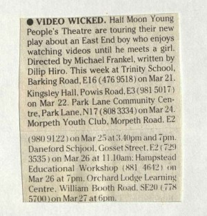 Video Wicked - 21 March 1985
