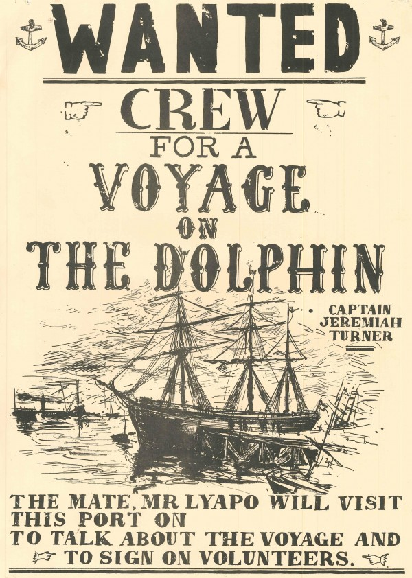 Voyage on the Dolphin, The. Poster