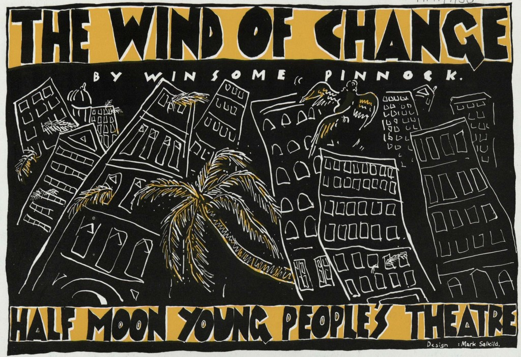 Wind of Change, The. Flyer (Front)