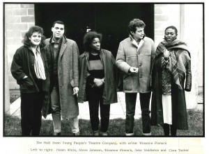 Writer and Cast of The Wind of Change, Photo by Amrando Atkinson