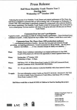 Yeh Hsien - Press Release