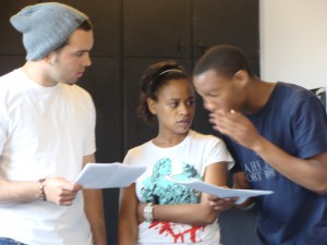 Cast, Look to the Sky rehearsal photo (7)