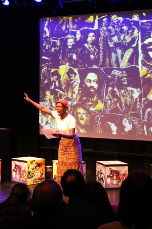 Half Moon Theatre - Stages of Half Moon launch event, Sat 2 July 2016. Photo by Stephen Beeny