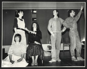 Photo by Sheila Burnett. During our research, we found some production photos that we had no details for. Can you help us name them? If you recognise the show, an actor, or you know who the photographer was, then please get in touch as we need your help! Email history@halfmoon.org.uk