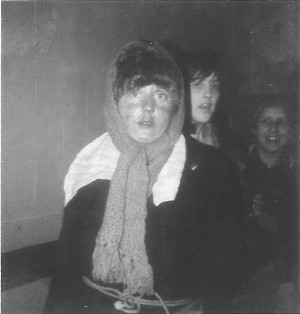 HMYPT Tramp in school, Sara Hardy, 1980 a
