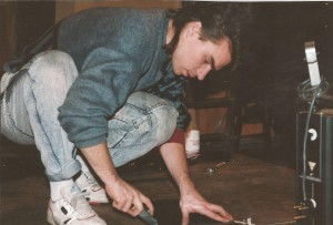 1990 George Panait during Technical Training Course