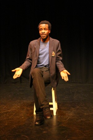 Boys Don't production photo - Hadiru Mahdi. Photo by Stephen Beeny